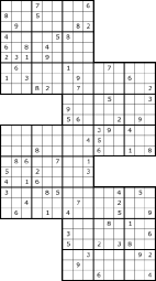 Voorbeeld Level Up Sudoku
